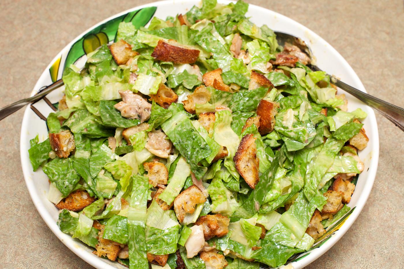 Easy caesar salad dressing pictures