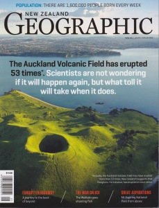 NZ Geographic cover