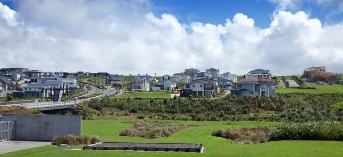 Panorama of Long Bay Hills 2016