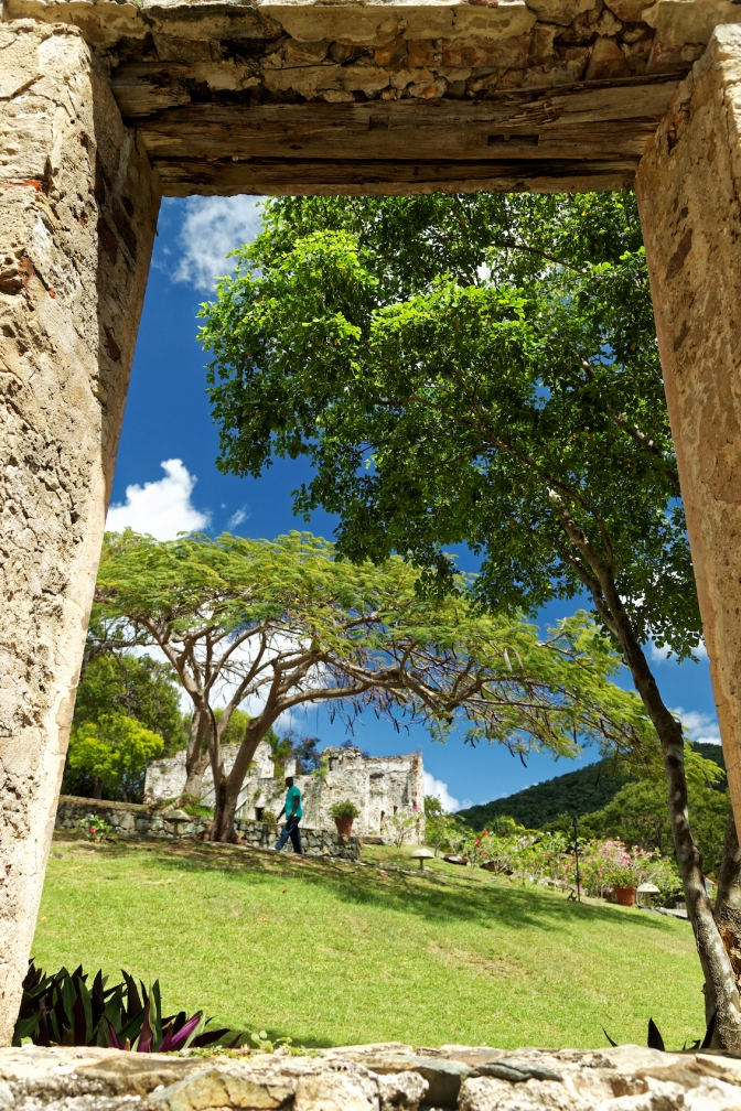 Sugarmill ruins, Caneel Bay, St John, US Virgin Islands
