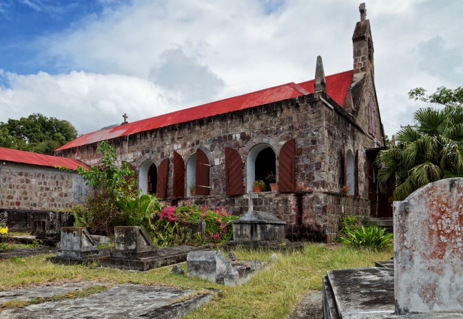 St John Fig Leaf Church, Nevis