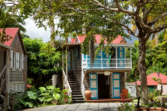 The Hermitage historic hotel, Nevis