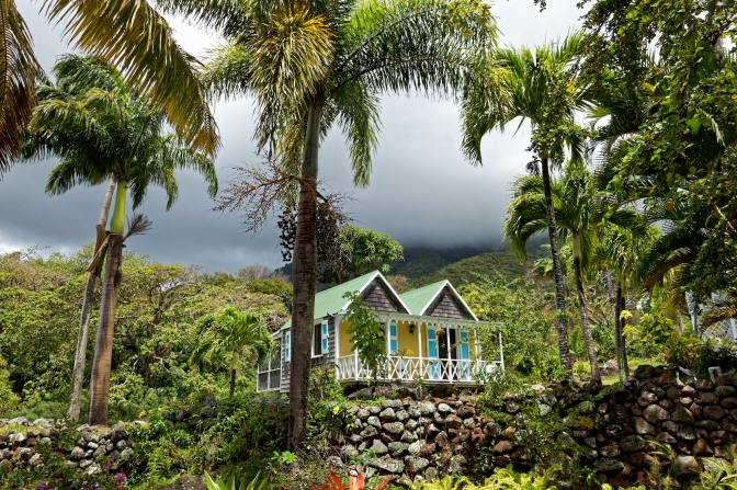 Chalet at the Hermitage historic hotel, Nevis