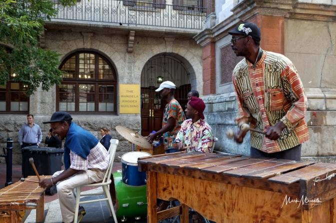 Street musicians, Cape Town