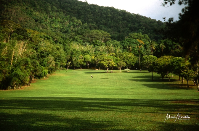 The 6th fairway at Chaguaramas Golf Club